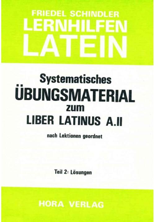 Aufgabenlösungen zum Liber Latinus A.2