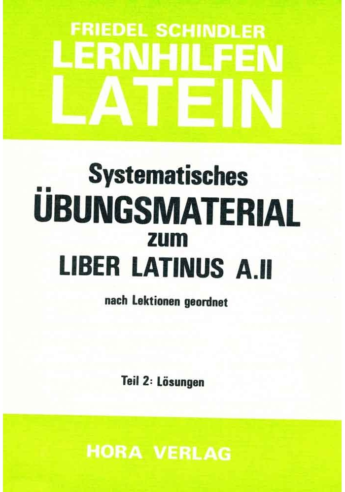 Übungsmaterial zum Liber Latinus A.2
