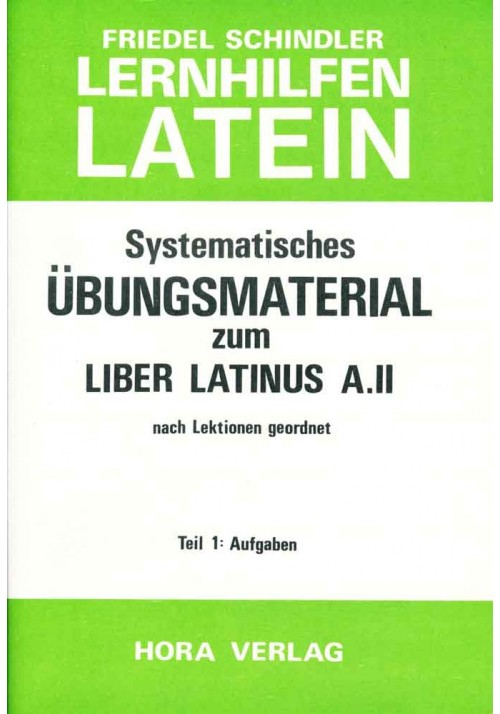 Aufgaben zum Liber Latinus A.2