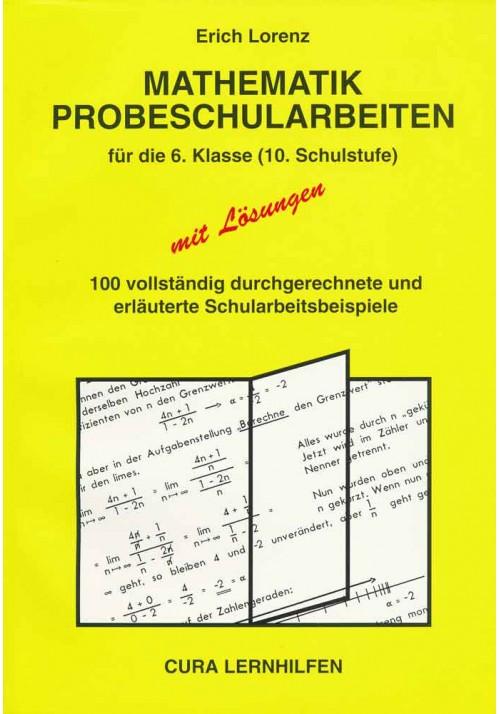 Mathematik Probeschularbeiten 10. Schulstufe