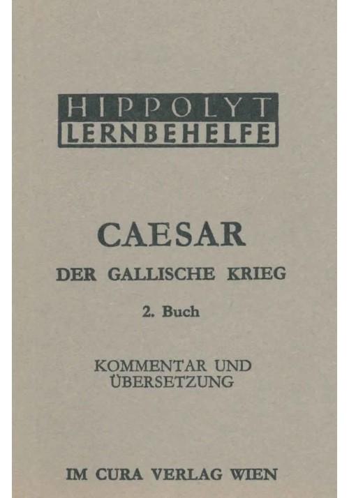 Caesar Der Gallische Krieg, 2. Buch