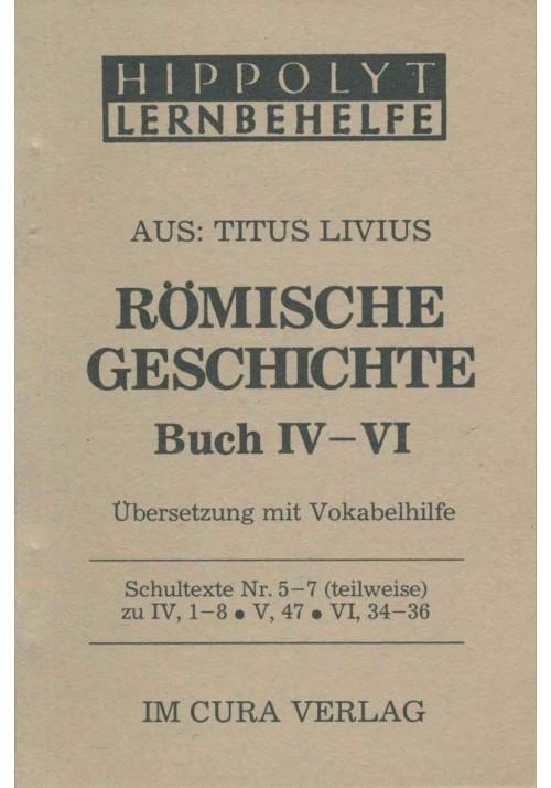 Livius Römische Geschichte 4-6