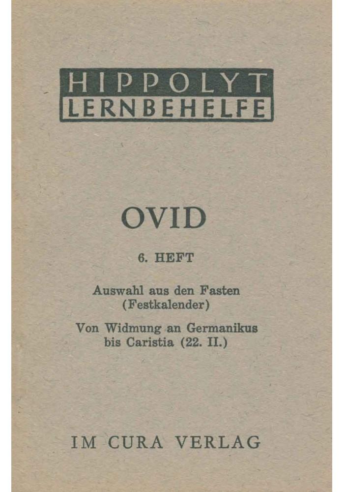 Ovid 6 - Fasten/Germanikus
