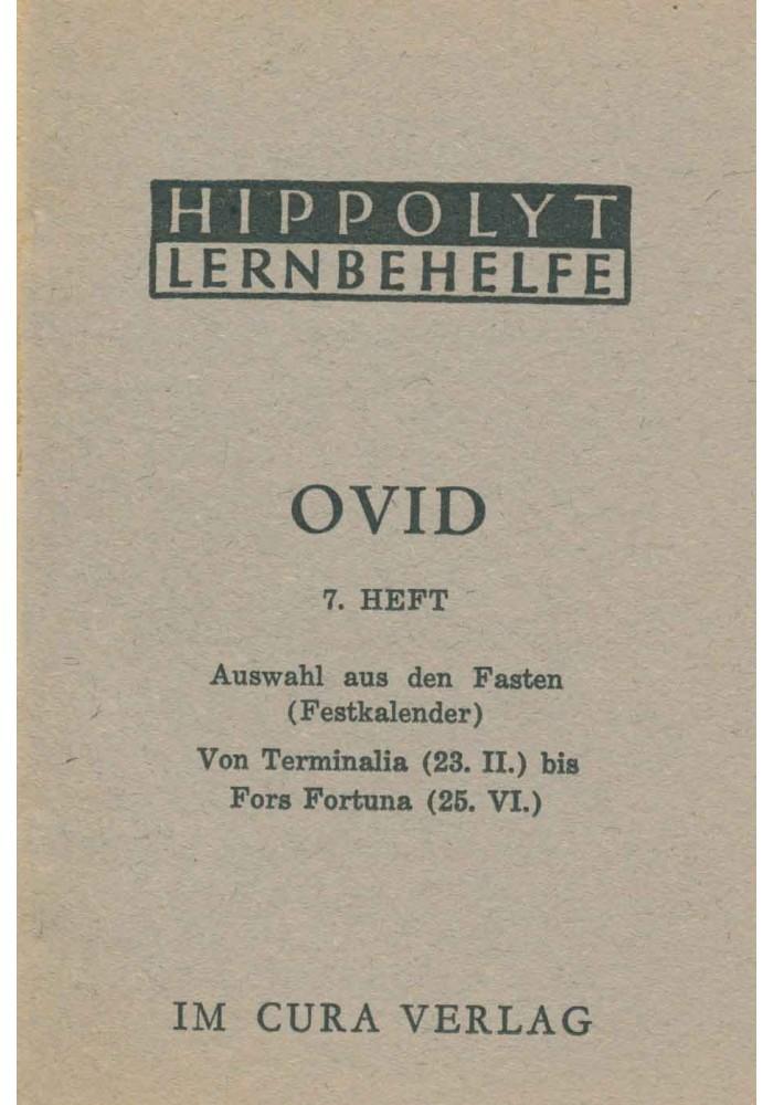 Ovid Fasten Terminalia - Fors Fortuna