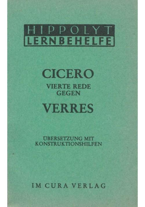 Cicero Verres 4