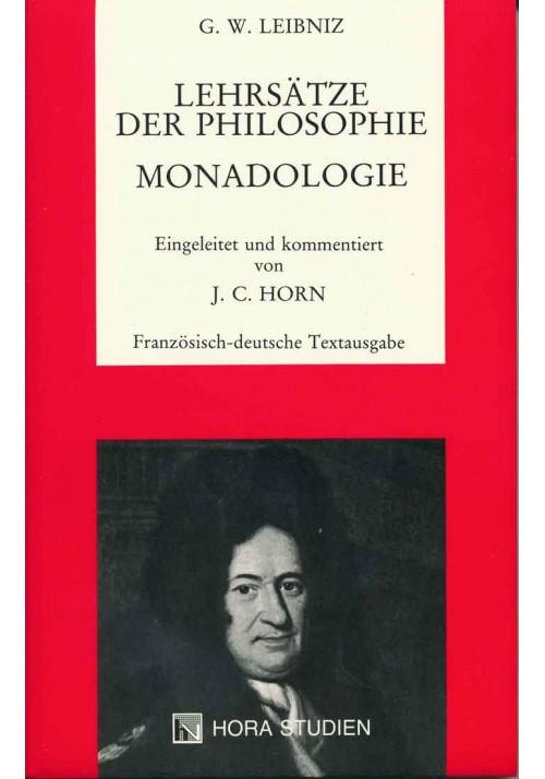 Lehrsätze der Philosophie. Monadologie.